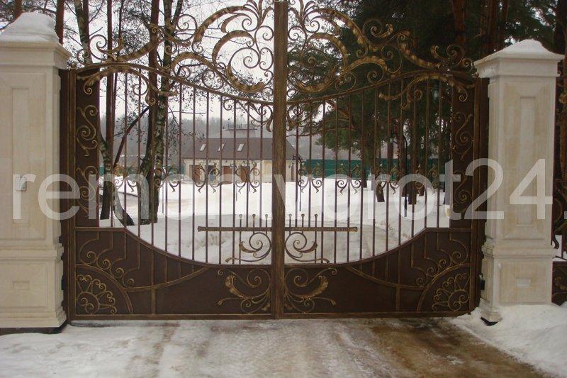 Установка и ремонт ворот на Истре, Рублевке, в Можайске